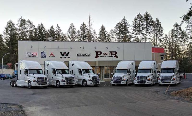 Freightliner Dealers Vancouver Island
