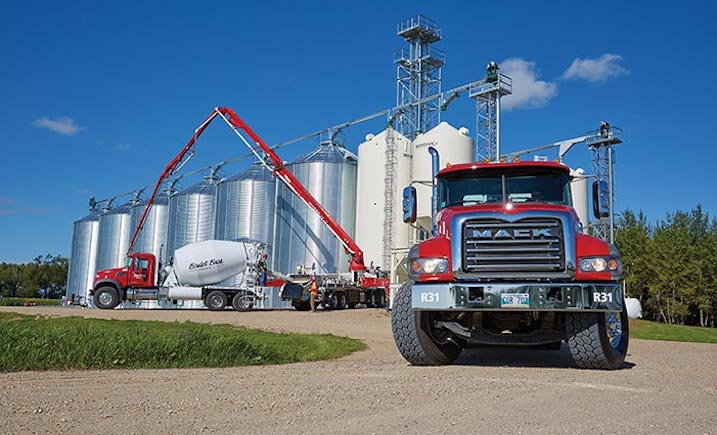 3a989837a065e Boulet Brothers Concrete relies on Mack® trucks to exceed customer  expectations